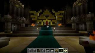 Minecraft Zelda: Twilight Princess Castle Town And Zelda