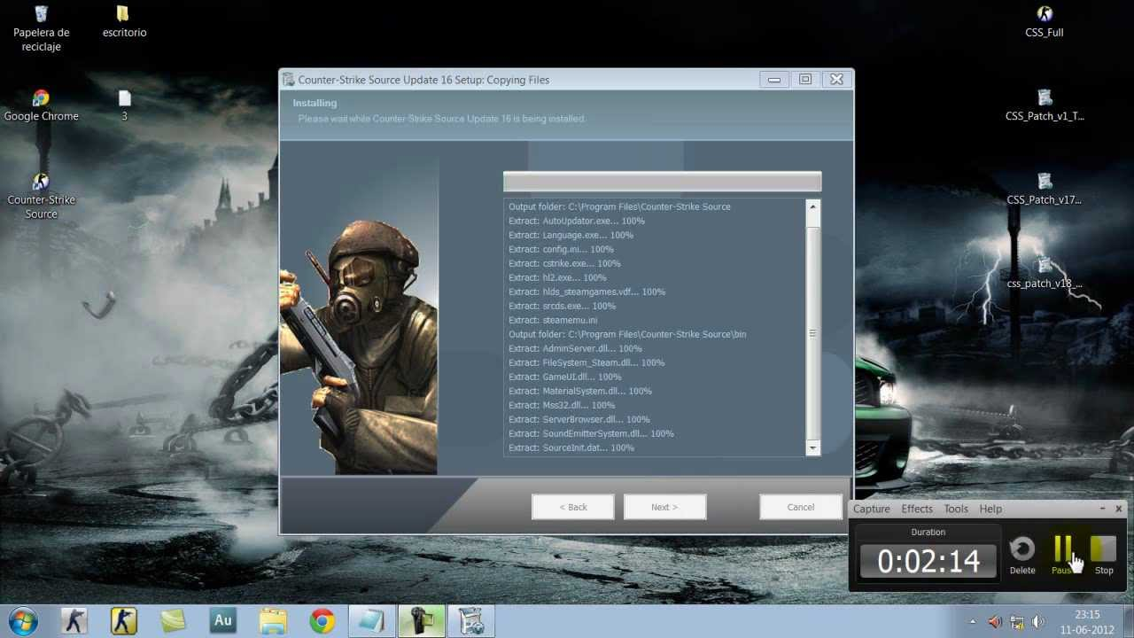 Counter Strike Source CSS Patch v16 v17 v18 nonsteam.zip COUNTER STRIKE
