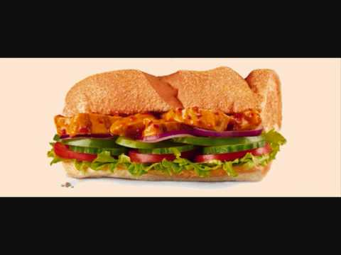 Peri Peri Chicken Chicken Sub (From the Subway Ad) - For 9 Minutes and 14 Seconds