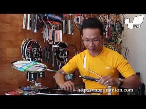 Cách Phân biệt vợt cầu lông thật , vợt cầu lông giả do shopvnb.com thực hiện