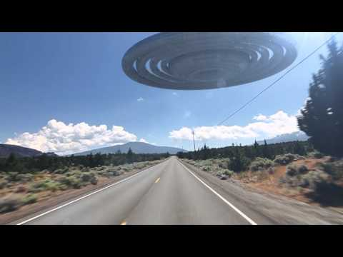 HOLY SHIZ! Backroad UFO Encounter, Not fake