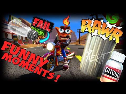 Crash Team Racing Funny Moments EP 10