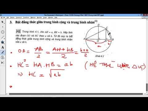 [TOÁN LTĐH 10] Chương IV BĐT Bài 1 - P1/3 - BT1-4 Bất đẳng thức và chứng minh BĐT