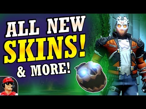 ALL NEW Skins & Cosmetic Items! | 2018 Halloween Terror Event (Overwatch)