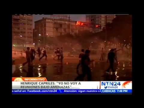 Henrique Capriles asegura que no se reunirá con Nicolás Maduro bajo amenazas