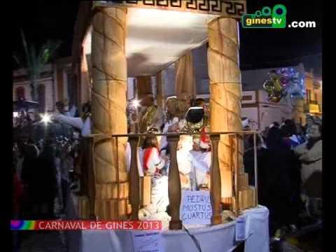 Gran Desfile del Carnaval de Gines 2013 (COMPLETO)