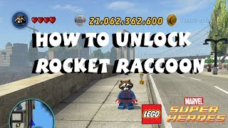 How To Unlock Rocket Raccoon Lego Marvel Super Heroes