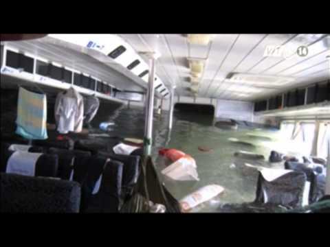 VTC14_Đã đưa tàu Savanna bị chìm vào bờ
