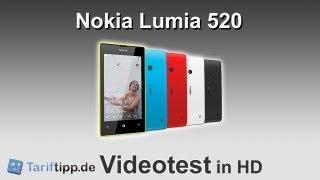Nokia Lumia 520 Test In HD (deutsch)