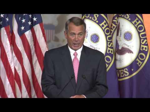 John Boehner still disapproving of Obamacare