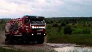 МАЗ Dakar грузовики в грязи
