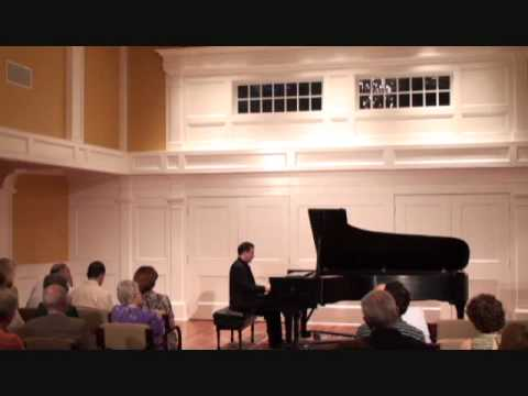 Max Levinson plays Chopin Ballade #4 in F minor (part 1 of 2)