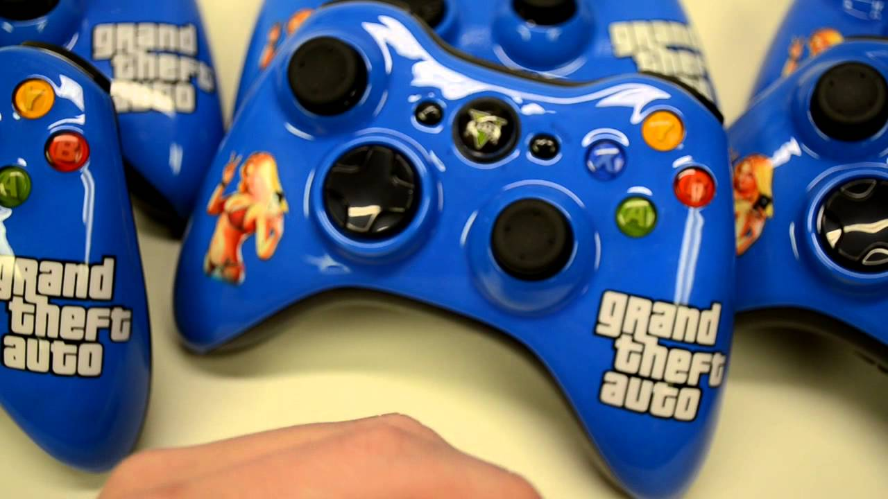 Grand Theft Auto   Vanossgaming Custom Controller Xbox One