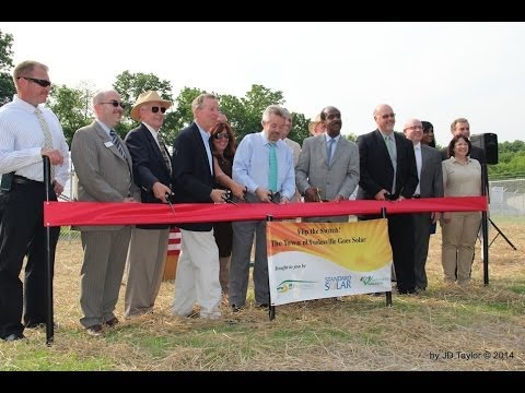 Poolesville Solar Array Ribbon Cutting