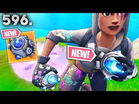 WHY *NEW* SHOCKWAVE GRENADE IS OP..!! Fortnite Funny WTF Fails and Daily Best Moments Ep.596