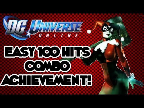 DC Universe online - Easy 100 Hits Combo