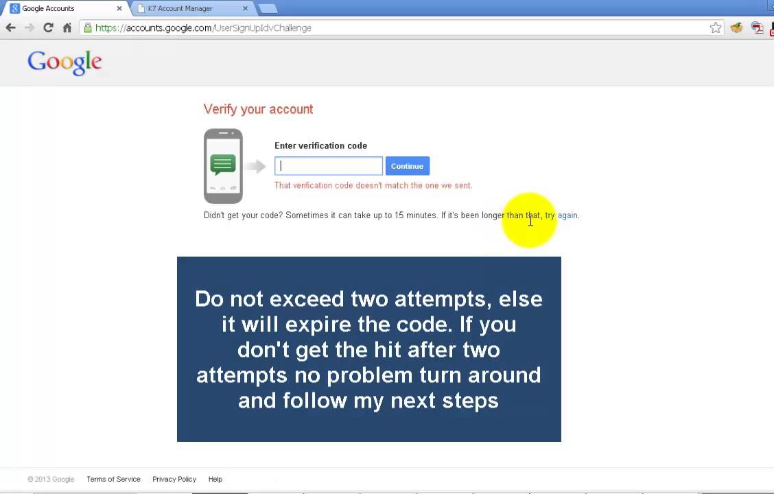 how to change my cellphone number gmail account