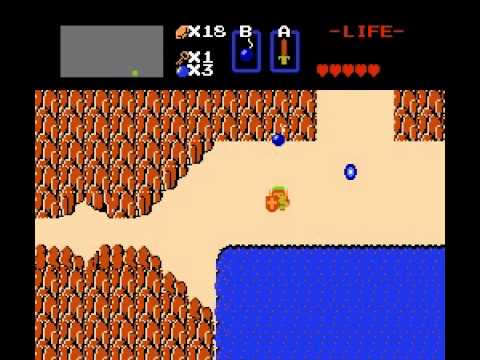 The Legend of Zelda - Legend of Zelda (NES) part 1 - User video