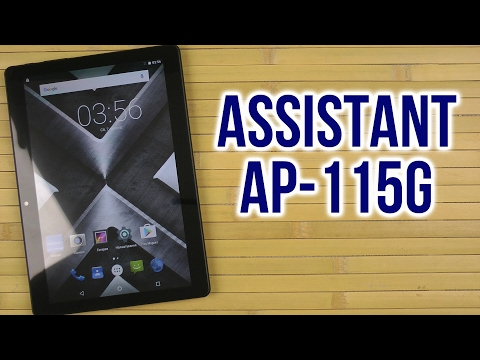 Распаковка Assistant AP-115G IPS HD Black