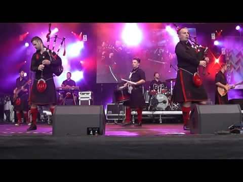 0 Red Hot Chilli Pipers, KiWo 2014 Kieler Woche