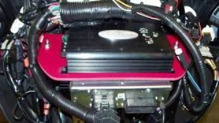 2007 FLHX Street Glide Motorcycle Stereo Upgrade