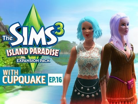 """PLAYING IN THE SAND"" Sims 3 Island Paradise Ep 16"