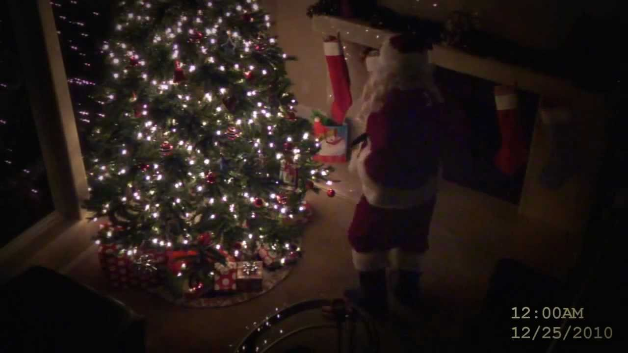 how to catch santa claus on camera