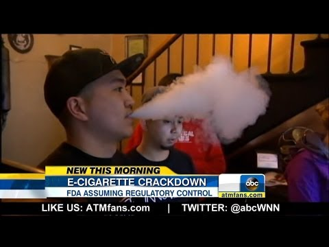FDA Wants Warning Label on E-Cigarettes, Ban on Sales to Minors