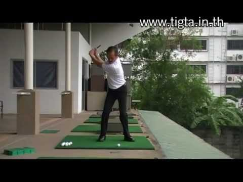 The best golf swing (anyone can do) by Sittisak nantaterm 56 years old / Teaching Professional