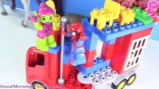 Đồ Chơi Lego Duplo Xây Xe Tải Người Nhện (Bí Đỏ)Spider Man Struck Adventure