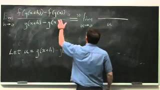 Worldwide Calculus: The Chain Rule
