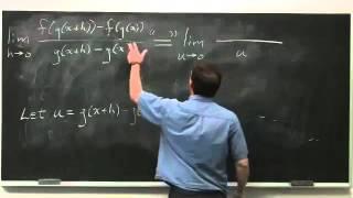Worldwide Calculus: The Chain Rule