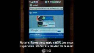 Configuracion WIFI En LG T310i Cookie Wink Style