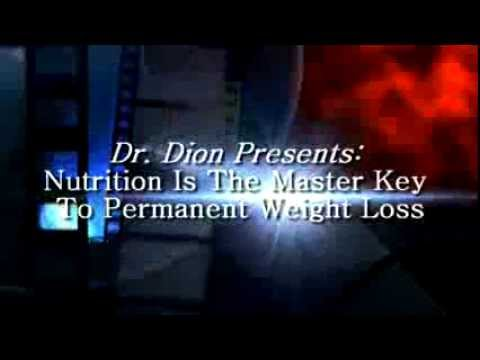 Dr. Dion Presents: Can Nutrition Help You Lose Weight & Keep It Off?