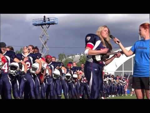 Quarterback Sings National Anthem & Wins Gold Medal: Team USA's Sami Grisafe Rocks Anthem