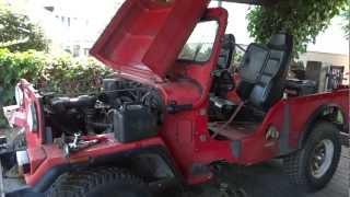 Mahindra CJ 540 - Motortest vor dem Schlachtfest