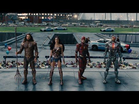 Justice League  ComicCon Sneak Peek HD
