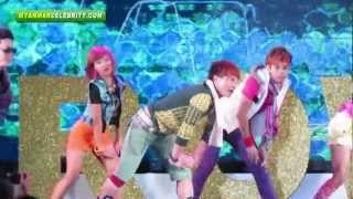Myanmar Actor Yarzar Nay Win's Gangnam Style Dancing