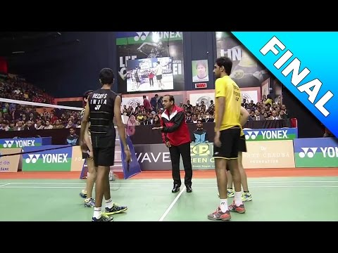 Syed Modi International Badminton C'ships 2017 | F | Red/Pon vs Cho/Red [HD]