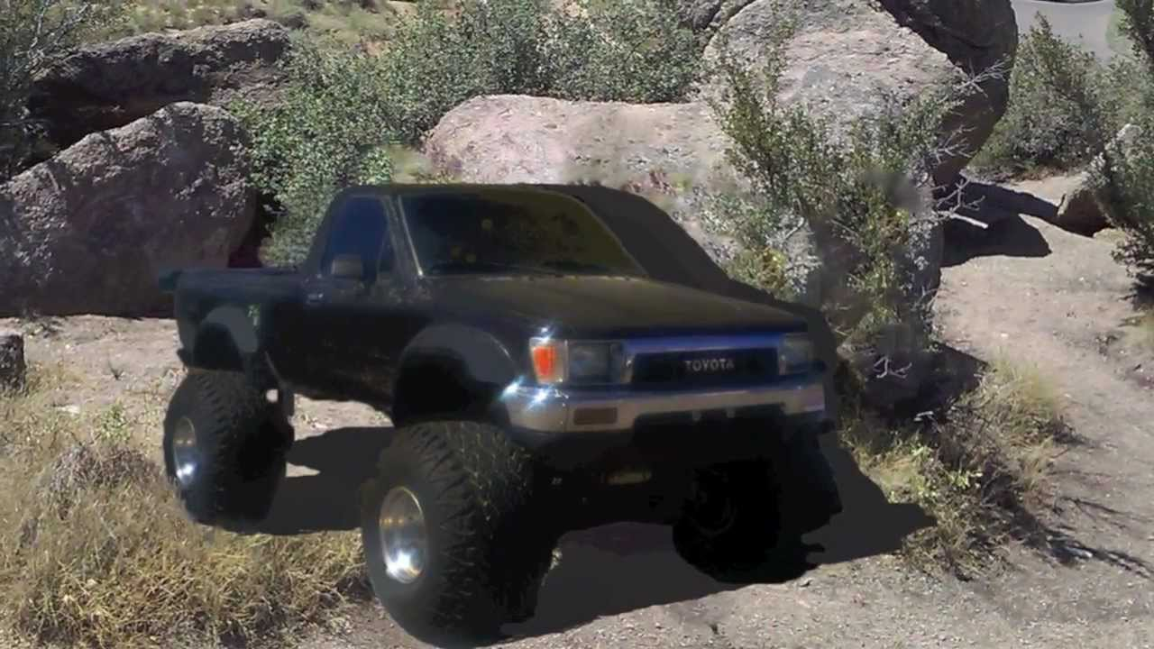 Freekin Awesome Toyota 4x4 Used Pickup Truck For Sale