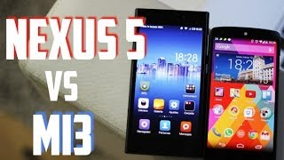 Comparativa Nexus 5 Vs Xiaomi Mi3