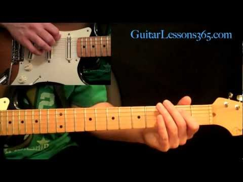 Motley Crue - Dr. Feelgood Guitar Lesson Pt.1 - Intro, Main Riff & Verse