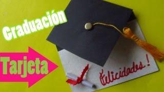 Tarjeta para graduaciones