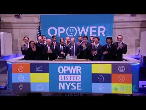 Opower Celebrates IPO on the New York Stock Exchange