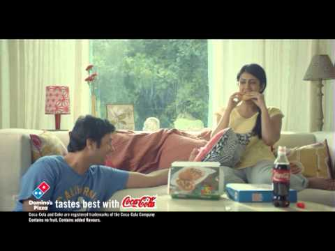 Latest TVC of Domino's Calzone Pockets