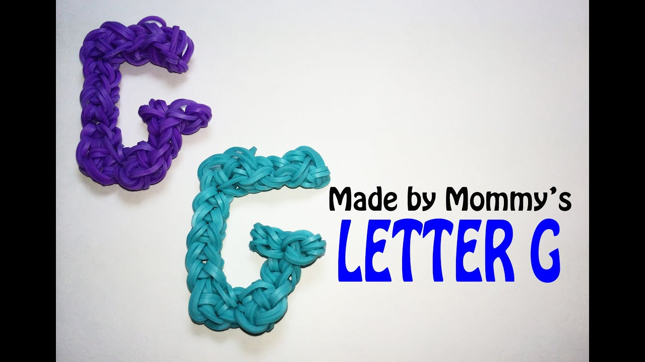 Rainbow Loom Letter S Made By Mommy