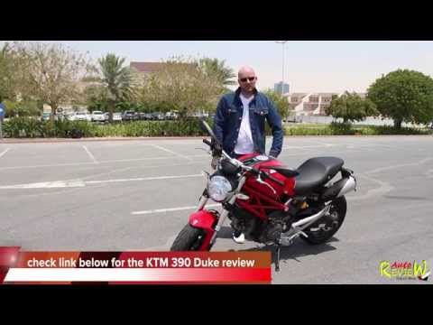 [ENG] 2014 Ducati Monster 696 - AutoReview - Dubai - Bike Edition (Episode 2)