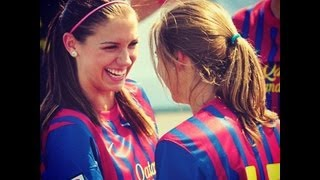 Tobin Heath And Alex Morgan Wonderwall