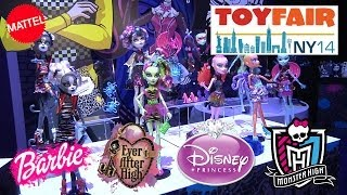 New MONSTER HIGH, Barbie, Ever After High & Disney
