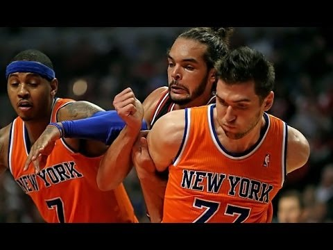 Andrea Bargnani - New York Knicks @ Chicago Bulls (Oct 31, 2013)